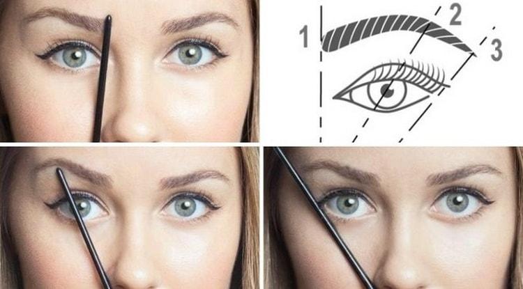 Пошаговая инструкция с фото: как правильно красить брови карандашом