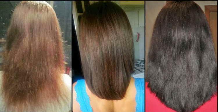 маска для тонких окрашенных волос