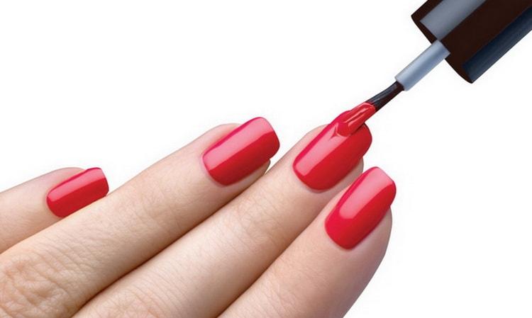 покрытие ногтей гель лаком пошаговая инструкция