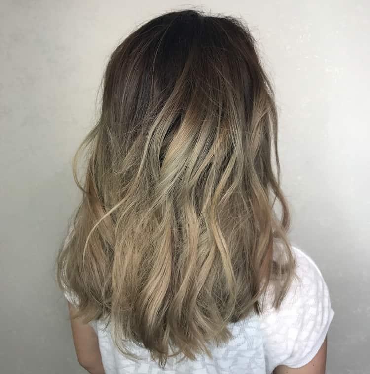 шатуш это техника, которая просто идельано подойдет для русых волос.
