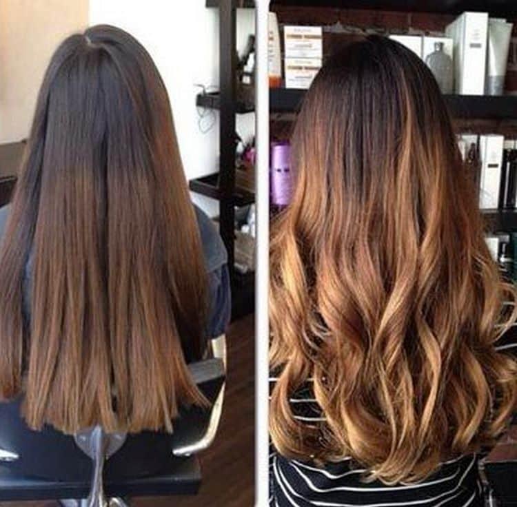 Можно при окрашивании выбрать для русых волос и более насыщенные оттенки.