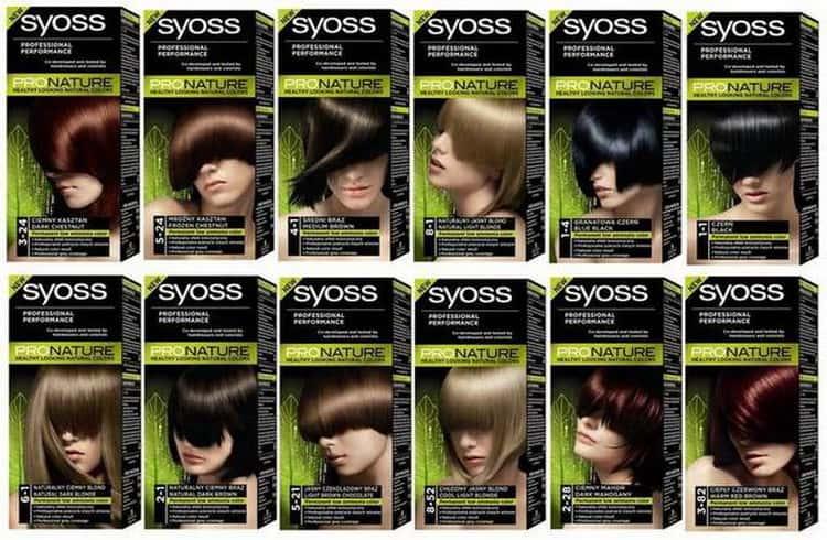 краска для волос Syoss ProNature