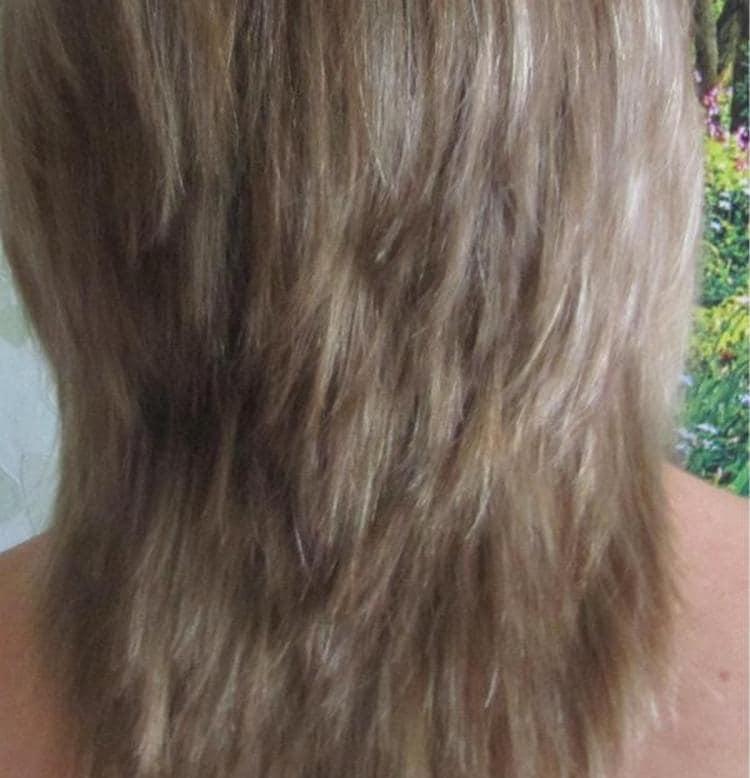 Волосы хорошо укладываются после применения прибора.