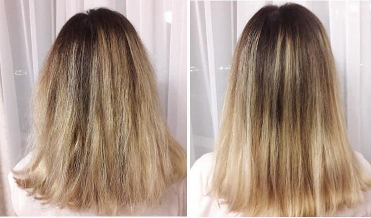 Волосы становятся более послушными и лучше укладываются.