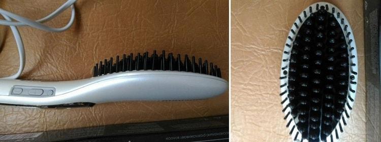 А так выглядит выпрямитель расческа для волос redmond rci 2316.