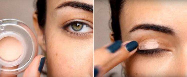 Поговорим о том, как научиться красить глаза тенями.