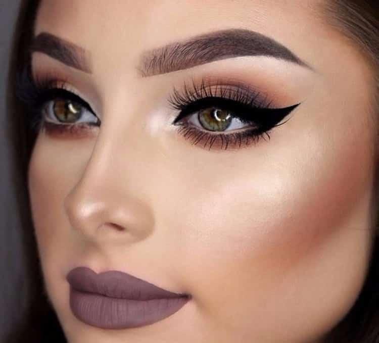 Как сделать вечерний макияж: пошаговое фото
