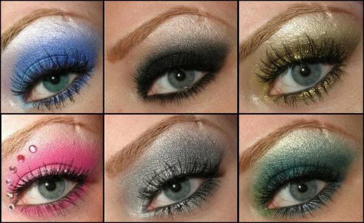 какие тени подходят для зеленых глаз
