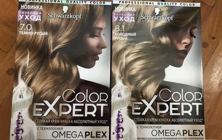 Многим также нравится краска для волос Шварцкопф color expert.