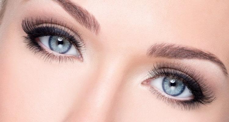 макияж для русых с серо голубыми глазами