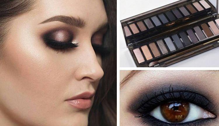 Техника макияжа смоки айс подразумевает использование темных теней.