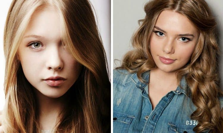 макияж в школу в 14 лет становится уже более взрослым.