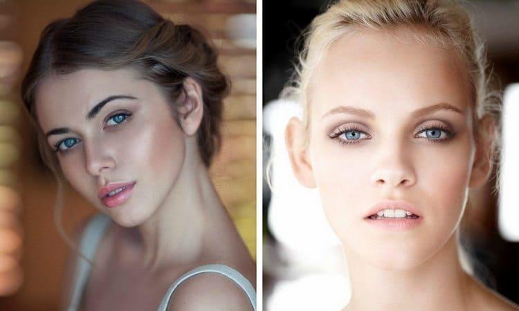В 14 лет девочки уже намного больше красятся.