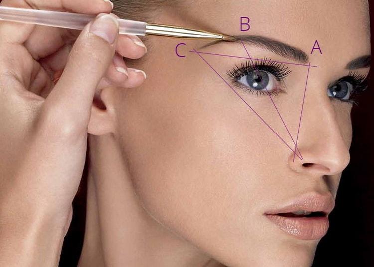 Как правильно нарисовать брови