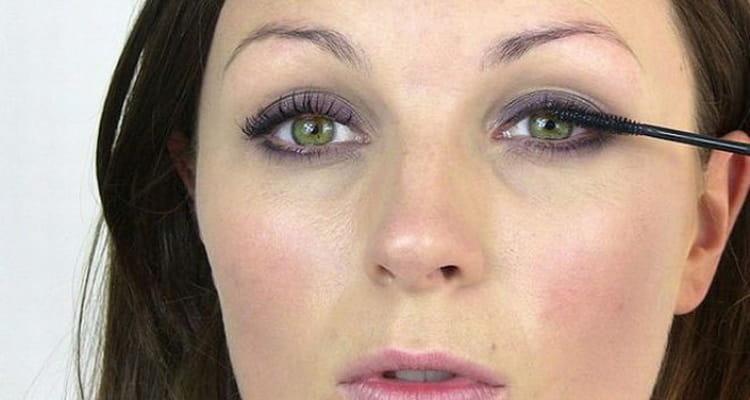 легкий макияж ресниц на каждый день