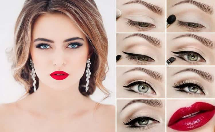 Как правильно сделать вечерний макияж