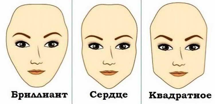 Как сделать форму бровей по типу лица