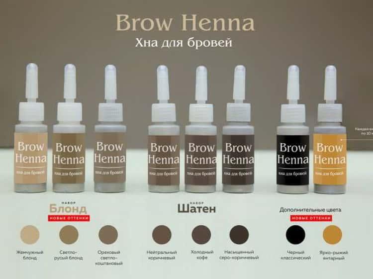 хна для бровей brow henna: производитель