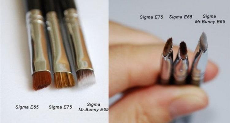 как правильно пользоваться тенями для бровей