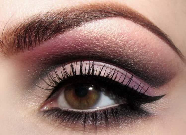 как увеличить узкие глаза с помощью макияжа