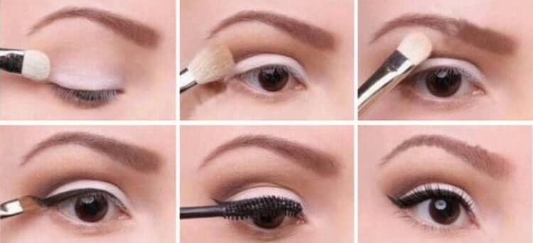 как визуально увеличить глаза с помощью макияжа