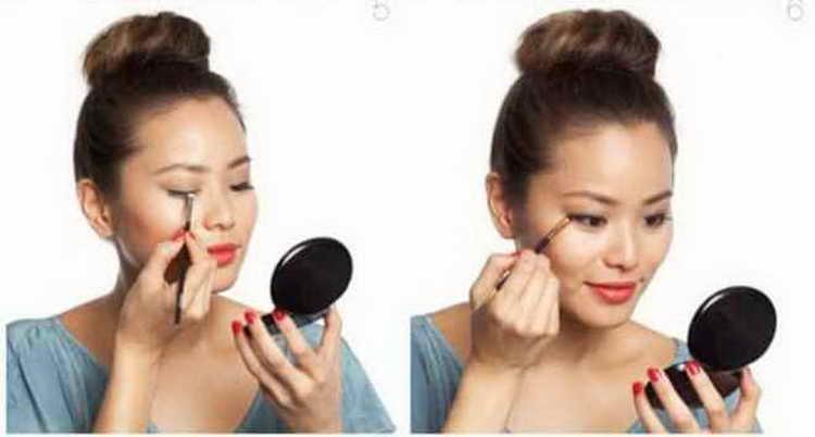 макияж без макияжа глаз
