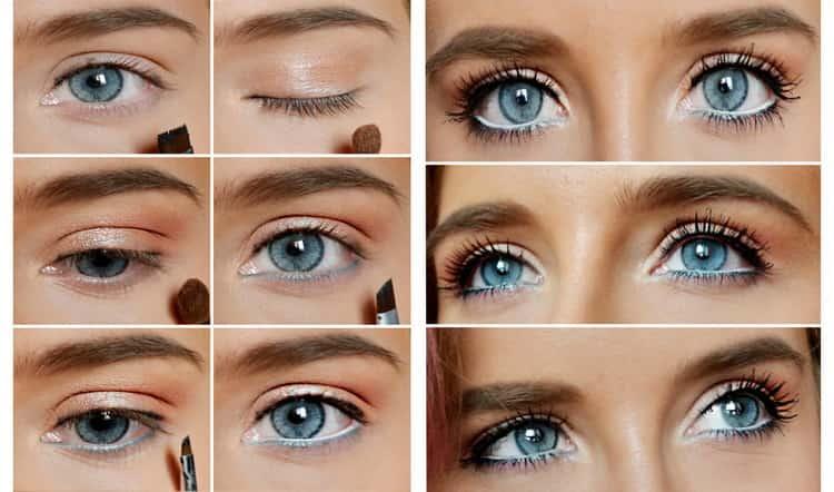 Как делать макияж для глубоко посаженных зеленых глаз