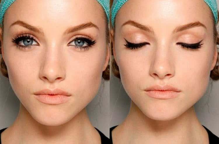 макияж для глубоко посаженных глаз видео уроки