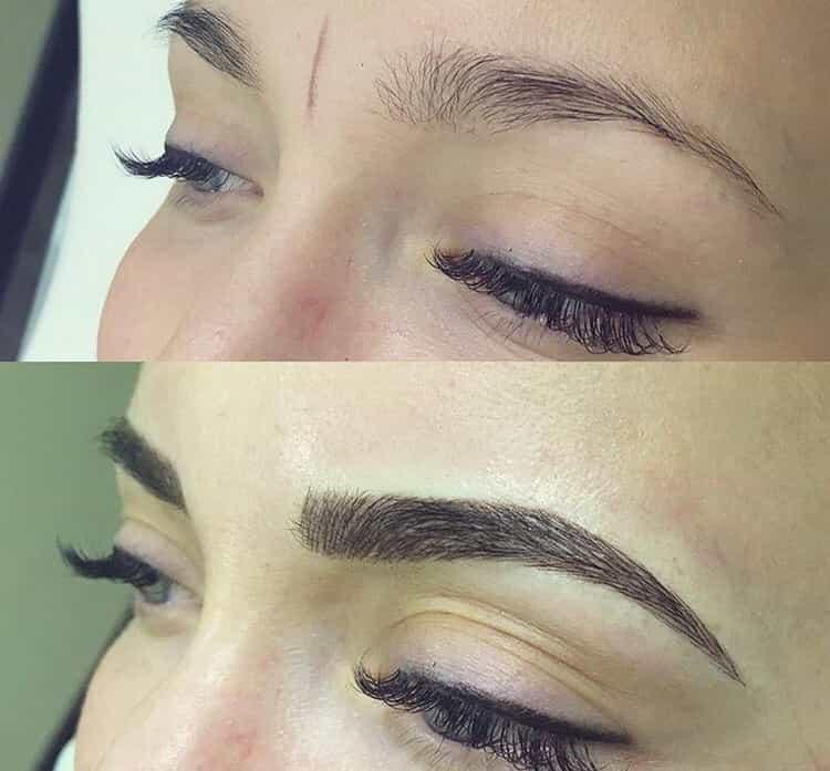 перманентный макияж бровей: отзывы