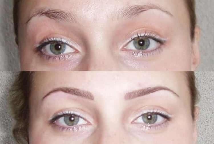 перманентный макияж бровей пудровые брови: отзывы