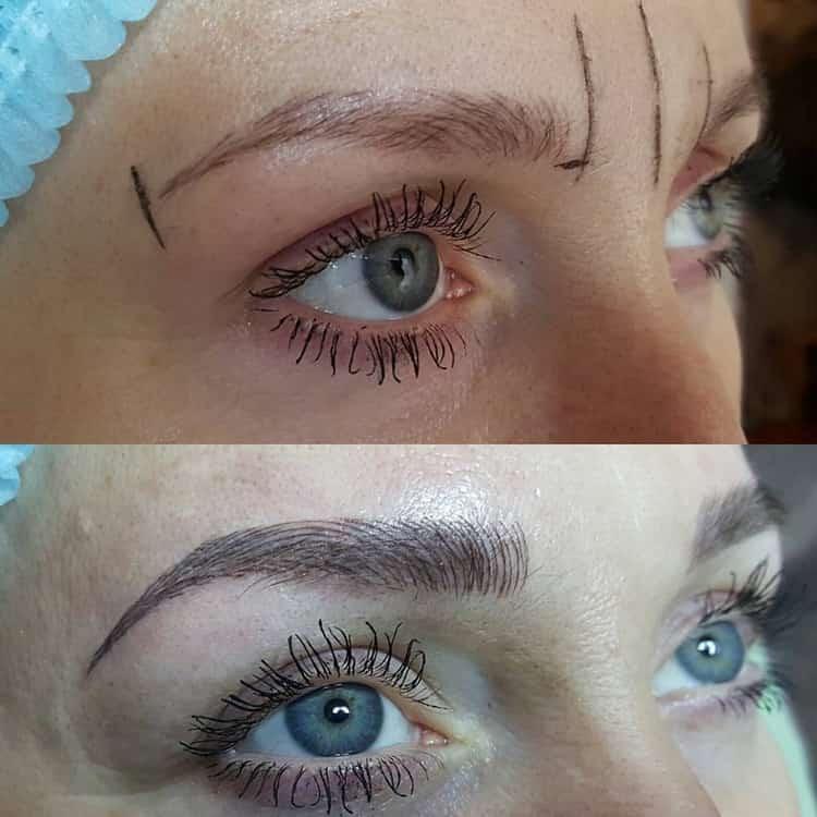 Зачем делать перманентный макияж бровей
