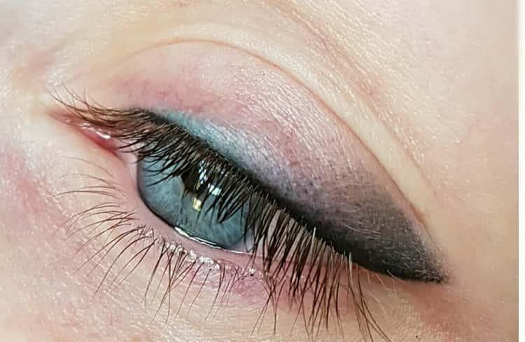 Особенности перманентного макияжа век и глаз с фото и отзывами