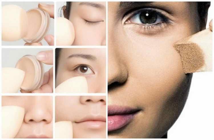 спонж для нанесения макияжа