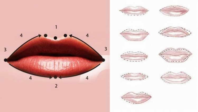 губы после татуажа фото по дням