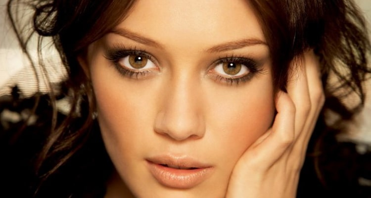 естественный макияж глаз у брюнеток