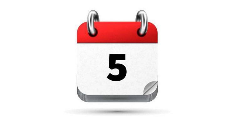 Стол 6 день диеты №5