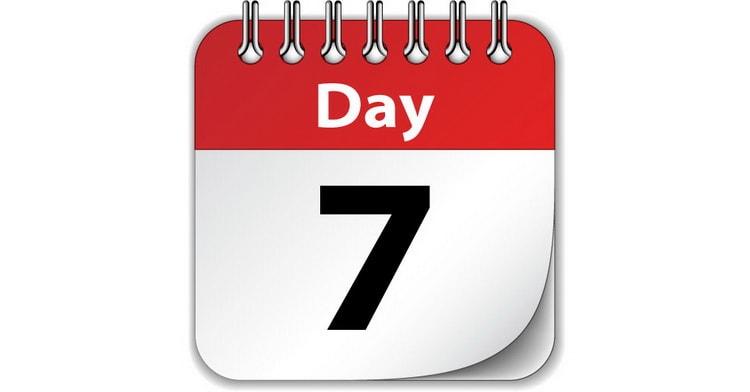 Стол 6 день диеты №7