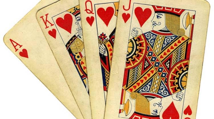 как гадать на желание на игральных картах значение червей