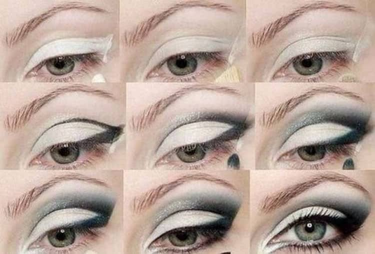 Макияж для светлых глаз.