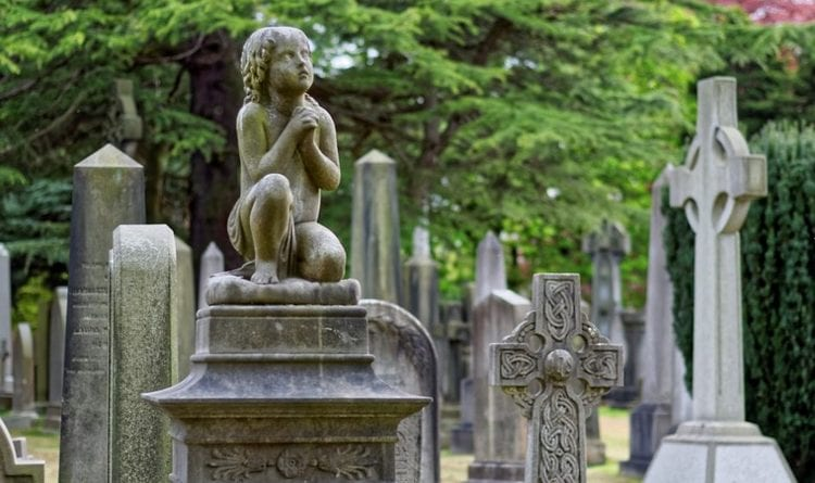Узнайте, к чему снится кладбище и могилы родственников.