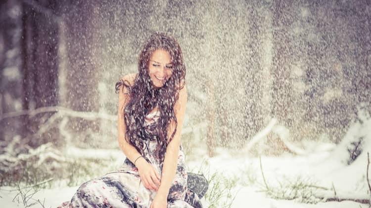 снег во сне к чему снится