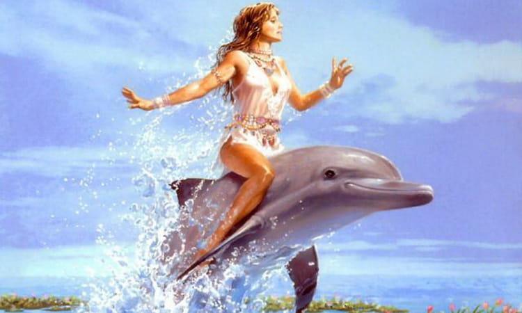 к чему снится дельфины в воде женщине