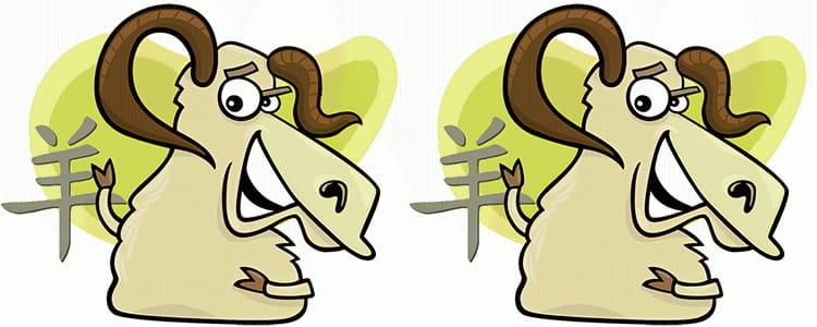 мужчина коза женщина коза совместимость в любви