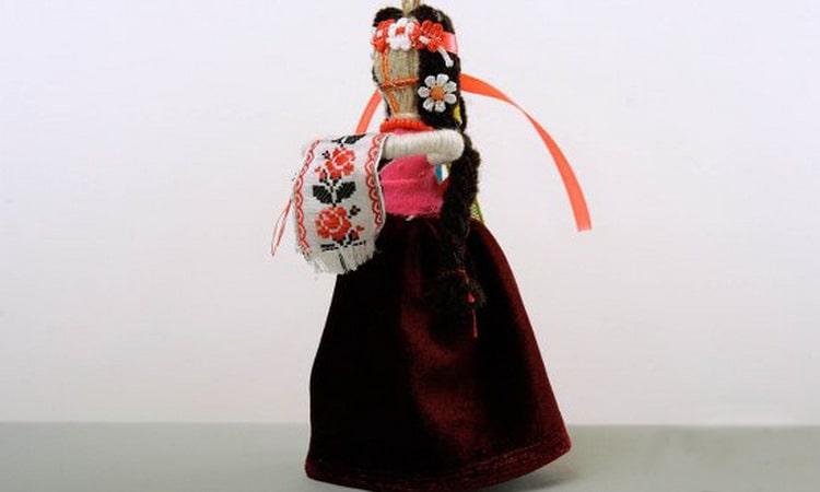 славянская кукла оберег Очистительница