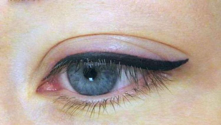 Как ухажывать за татуажем глаз с растушевкой фото