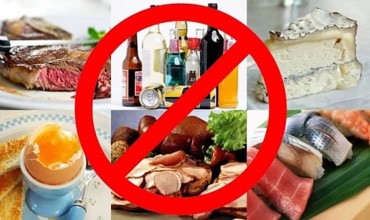 диета при гастрите и язве желудка что запрещено есть