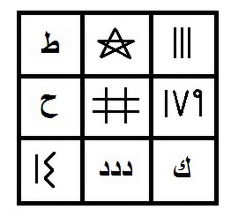 арабское гадание