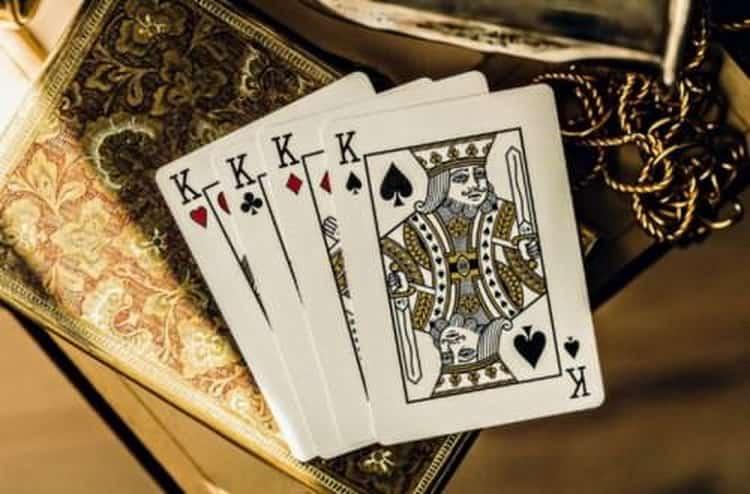 как сделать гадание на 4 королей