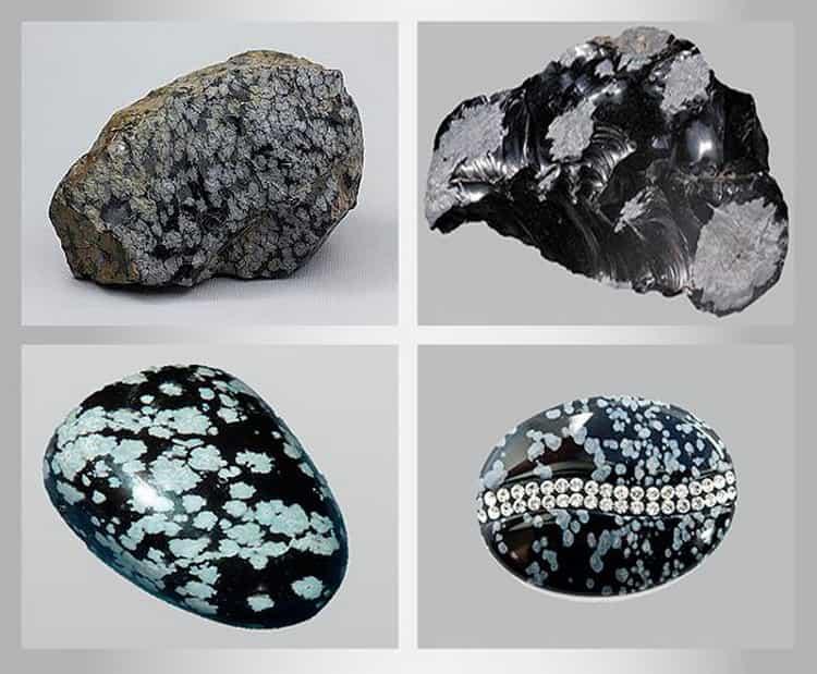 снежный обсидиан камень свойства