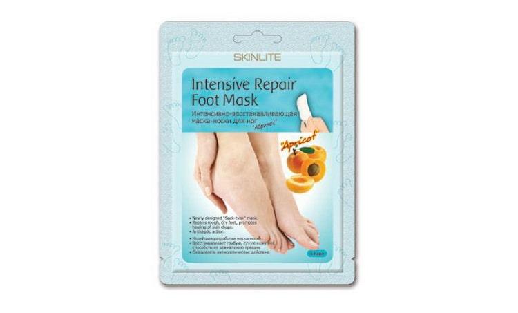 skinlite маска для ног отшелушивающая отзывы